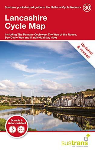 Lancashire cycle Map 30 por Sustrans