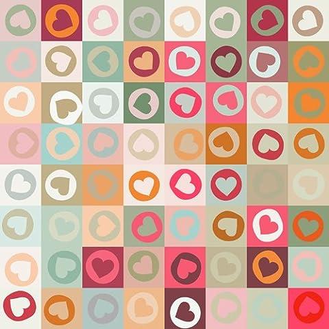 Coloc Photo 150X220CM photographie décors imprimés avec Heart-shaped pattern.thin fond de vinyle pour nouveau-né du studio D-9505