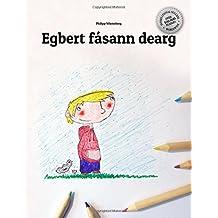 Egbert fásann dearg: Children's Picture Book/Coloring Book (Irish Gaelic Edition)