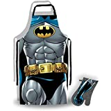 DC BATMAN APRON AND OVEN GLOVE SET by DC Comics