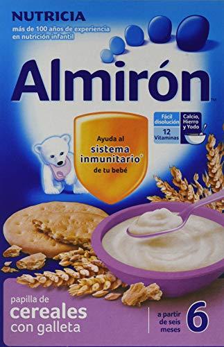 Almirón Papilla Cereales Galletas - Paquete 2 x 250