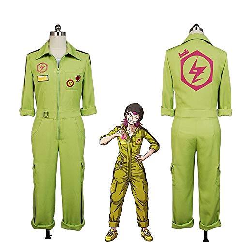 DuHLi Danganronpa Kazuichi Souda Cosplay Kostüm Full Set Outfit Männer Frauen Overall Benutzerdefinierte,Women's,M (Benutzerdefinierte Kostüm Frauen)