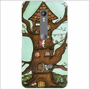 Moto G (3rd Generation) Back Cover - Tree House Designer Cases