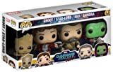 FunKo 14142 – Wächter der Galaxie 2, Pop Vinyl Figure 4-Pack 2 Groot Star Lord Ego Gamora