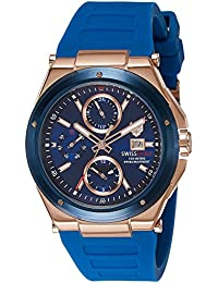 Swiss Eagle Analogue Blue Dial Men's Watch - Se-9099-03