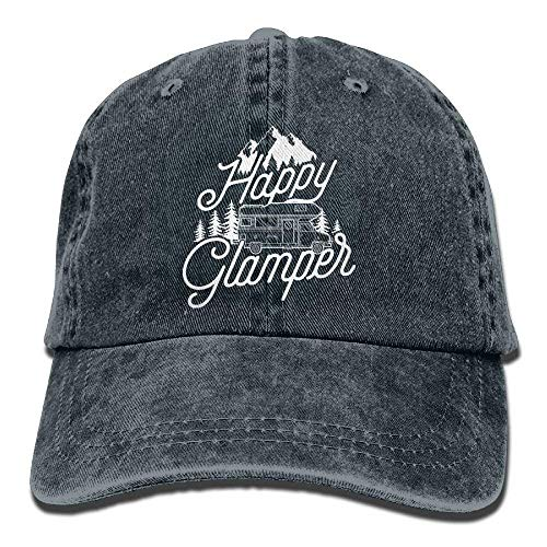 VTXINS Happy Glamper Denim Hat Adjustable Female Baseball Hat
