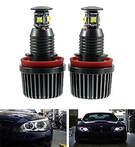 EX1 Auto Voiture LED Lumière Yeux d'ange H8 40W pour