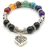 Best Delight Jewelry Friend Jewelry Foods - 10 MM Beads Yoga Balancing Reiki Healing Bracelet Review