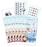 Craze 56463 - Tattoo Beauty Set Disney Frozen, sortiert
