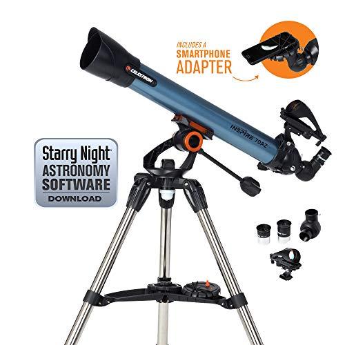 Celestron Inspire - Telescopio astronómico 70 mm