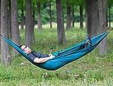 WENYAO Hammock Outdoor Picnic Grill da Campeggio Leggero e Resistente Durevole Leggero e Facile da ospitare Amaca Singola Oscillazione