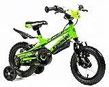Bicicletta Bambino 14'' - 4 5 6 7 Anni ATK Bikes Kawasaki KRUNCH