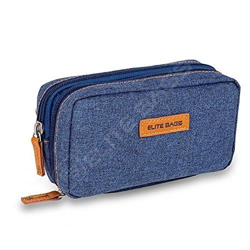 Isotherme-Tasche für Diabetiker | Diabetic\'s | Elite Bags | Dunkel denim Farben | Für Insulininjektionsgeräte und Blutzuckermessgeräte