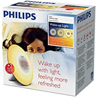 PHILIPS Wake-up Light, Plastik, weiß, 18 x 18 x 11.5 cm preisvergleich bei billige-tabletten.eu