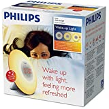 PHILIPS Wake-up Light, Plastik, weiß, 18 x 18 x 11.5 cm