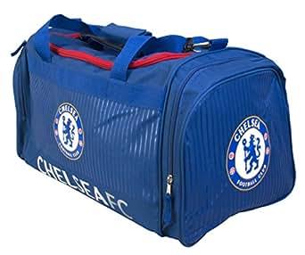 Chelsea FC Boy Core Holdall, Blue, One Size  Amazon.co.uk  Sports ... f2ae110ad6