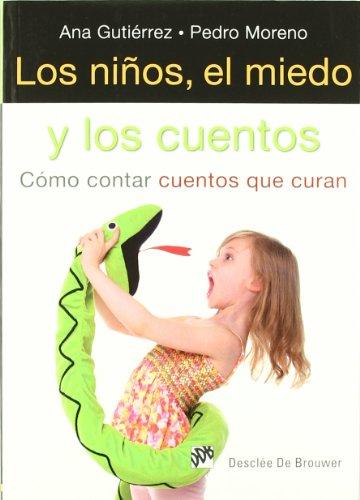Portada del libro Los niños, el miedo y los cuentos: Cómo contar cuentos que curan (AMAE)