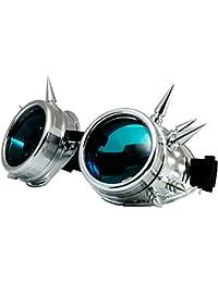Welding Cyber Goggles Goth Schutzbrille Cosplay Antique Sonnenbrille Victorian Gold Spikes MFAZ Morefaz Ltd wd9zQaAyM