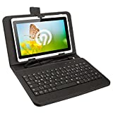 NINETEC Keyboard Case Tasche Tablet PC Cover 7 Zoll Schutz Hülle Micro-USB