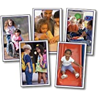 Children Learning Together Learning Cards