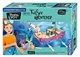 Pepper Mint und das Tiefsee-Abenteuer, Erforsche mit Pepper spielerisch das Element Wasser, mit Hydraulik-Kran und Seifenblasenmaschine, Experimentierkasten für Kinder ab 8 – 11 Jahre