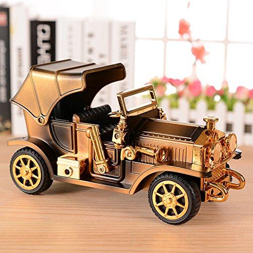 tagsgeschenk Musical Mechanismus Retro Spieldose Simulation Auto Spieldose Klassische Musik Dekoration 20 * 7.9 * 11Cm (zufällige Stil) (Wirren, Geburtstag Dekorationen)