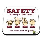 CS592 Safety Always Job one! Rock, ciseaux de papier, scie à table. Au travail et en...