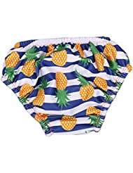 Stylish réutilisables lavables couches de bain Nappies de natation pour les bébés unisexe 2-3 ans, # 06