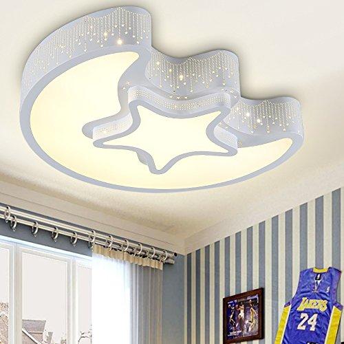BBSLT Camera illuminazione a led soffitto lampada luna stelle 550