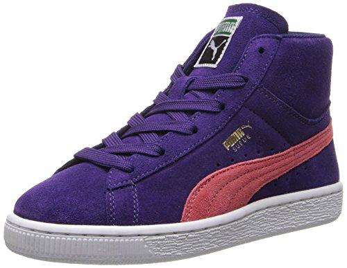 Puma Suede Classic Purple Youths Trainers - 356626 07 Purple