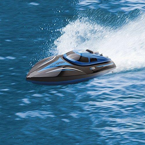 Skytech H100 2,4 GHz 4-Kanal-Hochgeschwindigkeitsboot mit LCD-Bildschirmsender -
