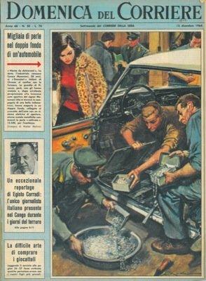 Finanzieri trovano nell'auto dell'industriale Cesare Musumeci alcune scatole metalliche contenenti le perle