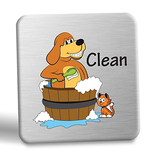 Smith's Clean & Dirty Dishwasher Magnet Indicator (Dog)