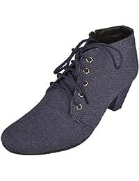 Exotique Women's Denim Slouch Boots (EL0054)