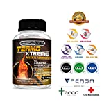 Exclusivo Termogénico con Acción Quemagrasas | Garcinia Cambogia + L-Carnitina + CLA + Glucomanano + Te Verde | Estimula el Metabolismo, reduce el apetito y mejora tus entrenamientos - 90UDS
