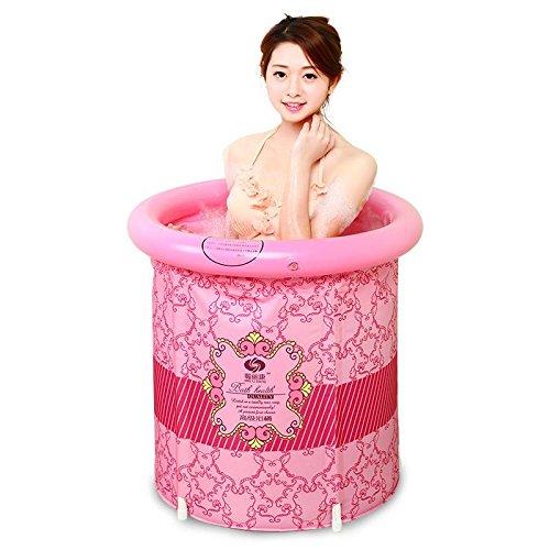 LIVY Fass-Badewanne für Erwachsene und Kinder gepolstert Falten aufblasbare Badewanne Wanne Wanne Badewanne Fass