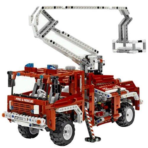 LEGO-Technic-Fire-Truck