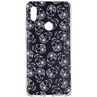 BONROY Hülle Case,Dünn Crystal Clear Transparent Tasche Handyhülle Cover Soft Premium-TPU Durchsichtige Schutzhülle Backcover für Xiaomi Redmi S2-(Schneeflocken)