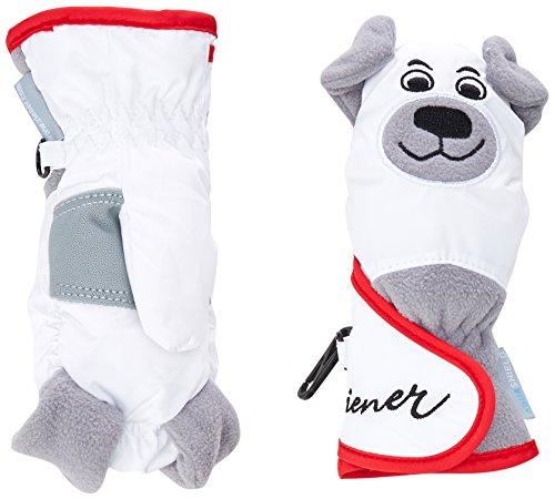 Ziener Lafauna AS Minis Schneefäustlinge für Kinder 3 Jahre weiß | 04052928205308