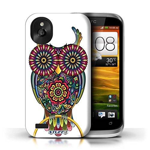 Kobalt® Imprimé Etui / Coque pour HTC Desire X / Chat conception / Série Animaux décoratifs Chouette