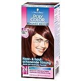 3x95ml - Schwarzkopf Poly Color - Tönungs-Wäsche - 26 Rotbraun - Haarfarbe