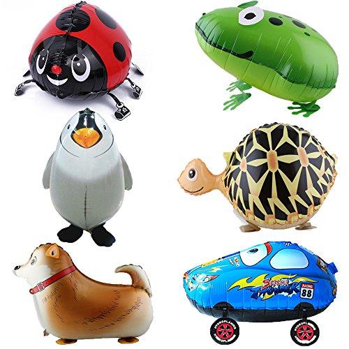 signstek-6pcs-walking-animali-palloncini-festa-di-compleanno-decorazione-bambini-regalo-turtle-frog-