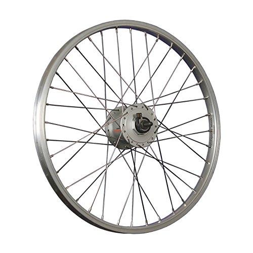 Taylor-Wheels 20 Zoll Vorderrad Aluminiumfelge Shimano Nabendynamo DH-C3000-3N