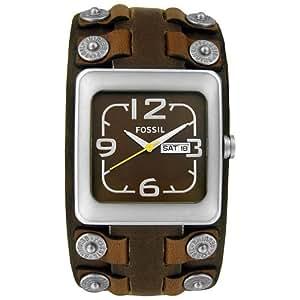 fossil herren armbanduhr analog leder braun trend jr9986. Black Bedroom Furniture Sets. Home Design Ideas