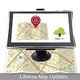 [2016 New Arrival] Noza Tec GPS Sat Nav Car GPS Navigation System with UK European Maps & Lifetime Map Updates, 7 Inch, 8GB, X7