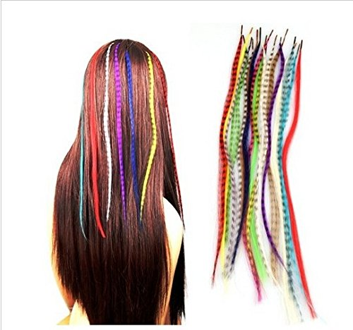 grizzly-pluma-extensiones-de-pelo-con-free-micro-beads-elegir-102030-o-50-piezas-set-of-50-feathers