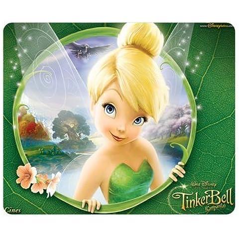 Disney cartoons Peter Pan Tinkerbell Rectangle Mouse Pad