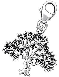 So Chic Joyas - Colgante Charm árbol Plata 925