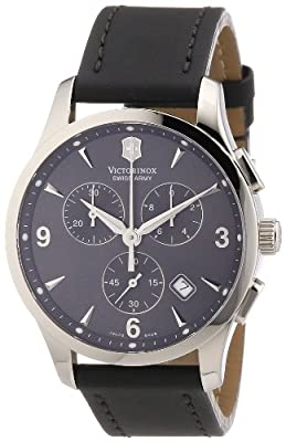 Victorinox Men's Watch Chronograph XL Leather Classic 241479
