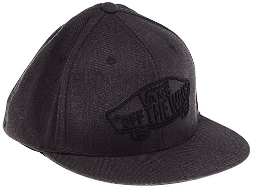 Vans Herren Baseball Cap Home Team Flexfit Grau (HEATHER GREY HTG)